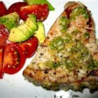 Grilled Jalapeno Tuna Steaks - These tuna steaks are marinated with the flavors of jalapeno, garlic, and lime.