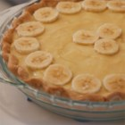 Banana Cream Pie I - This ambrosial banana cream pie is filled with lots of bananas and a creamy pudding mixture. Once this pie is prepared, it's slipped into the oven for about 15 minutes, then chilled and served to raves.