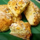 Jim's Cheddar Onion Soda Bread - Quick soda bread flavored with onion and Cheddar cheese is the perfect go-with for your St. Patrick's stew or corned beef dinner. But it's so fast and versatile, you'll make it for just about any soup dinner.
