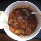 Irish Beef Stew - I got this recipe from a friend who recently vacationed in Ireland.  This is one of my favorite easy dinners!  The stout beer really adds a great flavor.