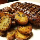 Bourbon Street New York Strip Steak - New York strip steaks are marinated in bourbon and brown sugar, then grilled. The result is a tender, sweet cut of meat, with a slightly crunchy crust that is irresistible.