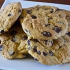 Mom's Chocolate Chip Cookies - Chocolate chip cookie made with instant vanilla pudding.