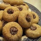 Hazelnut Melting Moments - A cute thumbprint cookie that melts in your mouth. Classy enough for any occasion.
