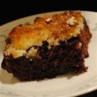 Earthquake Cake III - This cake gets its name from its appearance after baking and is really yummy.