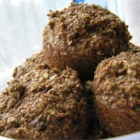 Deep Dark Old Recipe Bran Muffins - Chopped raisins sweeten these dark, bran-packed muffins.