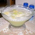 Non-Alcoholic Margarita Punch - Lemonade, limeade, sugar, egg whites, ice and water in your favorite margarita punch bowl.