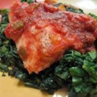Easiest Spicy Cod - Anyone can whip up this quick and easy baked cod recipe. Serve over warm rice.