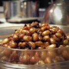 Deep Fried Black Eyed Peas - An unusual crunchy snack, black-eyed peas are soaked overnight, cooked with onion and jalapeno pepper, then deep fried and tossed with seasonings.