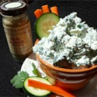 Blue Monday Dip - Great for dipping bread or raw vegetables. The spices will brighten any Monday!