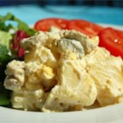 Chicken Potato Salad - The addition of chicken to this picnic essential lets it do double duty as main dish or side salad.