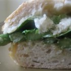 Springtime Asparagus and Parmesan Sandwich - Asparagus, fresh Parmesan cheese, and the buttery flavor of Boston lettuce - what could say 'spring' more? After a long winter, these are my Spring food fantasies!
