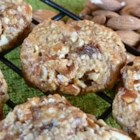 Tahini Cookies - This cookie recipe uses tahini (sesame seed butter purchased at a health food store or home made), also uses oatmeal, no flour, no sugar, no eggs and no dairy products. As variation, add chopped apples, raisins or dates.