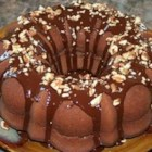 Mom's Chocolate Pound Cake - A nice rich chocolate pound cake is made from ingredients you probably keep around the house. Frost with icing, sprinkle with powdered sugar, or just slice and enjoy.