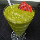 Green Slime Smoothie - This is yummy. With a name like this, your kids will love it.