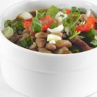 Guadalajara Soup - This is an excellent pinto bean soup. Serve this with warm corn or flour tortillas.  This is a thick chili-like soup that will fill you up with warmth and happiness.