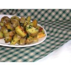 Cilantro and Garlic Potatoes - A yummy Lebanese way of serving potatoes. These go great with chicken or meat.