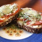 Most Excellent Sandwich - This is a healthy melt in your mouth sandwich if you are tired of the traditions.  Whole wheat bread is served open face with cream cheese, tomatoes, alfalfa sprouts and mozzarella cheese, then baked to perfection. These are sure to impress the pickiest of eaters!