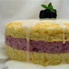 Glorious Sponge Cake - This is an old fashioned sponge cake with a lemon flavor.