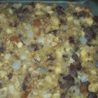 Cornbread and Sausage Stuffing - Use a pre-baked pan of corn bread in this stuffing for turkey, chicken or pork loin chops. You can freeze what you don't use for future meals.