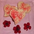Two Hearts Together - My husband and I love to bake in the kitchen together.  We made these cookies for Valentine's Day a few years back.