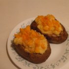Twice Baked Potatoes I - Twice baked potatoes, every kids favorite dish. Originally submitted to ThanksgivingRecipe.com.