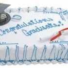 Graduation Cake - This is the cake that I am going to make for my children next year when they graduate from high school.  Great for college too.
