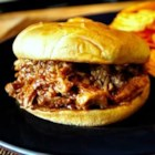BBQ Pork Sandwiches - A combination of roasting, then barbecuing with sauce makes this pork a delicious southern style recipe. Takes some preparation but well worth it. Excellent for feeding a crowd!