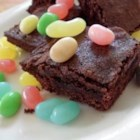 Basic Brownies - This recipe uses a pre-made mix that keeps for several weeks at room temperature. Add the following ingredients to the mix to make Brownies. You can look at the recipe for Basic Cookie Mix here at Allrecipes.com! Use 2 cups for this recipe.