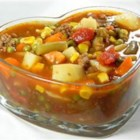 Vegetable Deer Soup - This is a hearty vegetable and venison soup. Everyone that I have fixed it for just loves it!