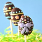 Peanut Butter Easter Eggs - My Mom made these chocolate-dipped peanut butter eggs for many years. She would put our names on them in frosting and decorate with bunnies and flowers.  They bring back wonderful memories.
