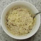Dorm Room Cheesy Tuna and Noodles - Cheap, easy, cheesy tuna and noodles for college students on a shoe string budget.