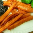 Honey Roasted Carrots - Carrots are tossed with olive oil and honey in this simple, easy, and delicious side dish.