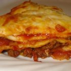 Mexican Lasagna - My whole family loves this beefy lasagna flavored with taco seasoning. Even my picky five-year-old will eat it. Serve with shredded lettuce, fresh sliced tomatoes, olives and sour cream.