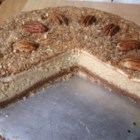 Pecan Cheesecake - A nice Thanksgiving Day cheesecake.