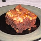 Passover Brownie Cake - I experimented for years to come up with a brownie made with matzoh... this is the best!