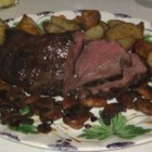Fabulous Beef Tenderloin - This three ingredient beef tenderloin dish will melt in your mouth.  We've had it for both of our Christmas dinners this year (2 families) and got RAVE reviews from everyone.  Hard to believe it's so easy to prepare!