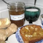 Ginger Marmalade - Homemade ginger marmalade is just the thing for spreading on toast or a crepe -- or to serve with savory dishes like ham, roast chicken, turkey, or lamb.