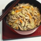 Tsao Mi Fun (Taiwanese Fried Rice Noodles) - Thin rice vermicelli noodles are stir-fried with pork and vegetables in this traditional Taiwanese dish.