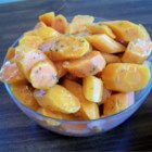 Baby Carrots with Dill Butter - Cooked baby carrots are tossed with a buttery dill mixture -- this is a great summer side dish.