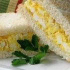 Delicious Egg Salad for Sandwiches - Make the perfect egg salad for sandwiches or crackers with only five ingredients.