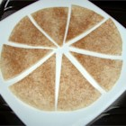 Cinnamon Sugar Tortilla Delight - I learned this cinnamon tortilla recipe in college. Makes a sweet, low fat and filling treat.  Best of all it's made in the microwave!