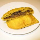 Jamaican Patties - These are delicious meat turnovers made with delicately seasoned ground beef. You can use a pie crust from a mix, or make your own. These are great to freeze, and bake when you want a quick snack.
