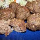 The Best Meatballs You'll Ever Have - Very tasty meatballs full of spice and sauteed to perfection. I usually serve mine with spaghetti, but I've also served them with a BBQ sauce and rice on the side.