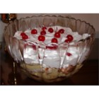English Trifle - Although this recipe uses a bit of sherry, the alcohol evaporates overnight. You may simply eliminate it if you don't care for alcohol. Two boxes of custard mix or vanilla pudding mix can be substituted for the pastry cream. However, using the pastry cream makes the dessert quite rich!
