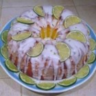 Margarita Cake - A margarita - tequila, lime juice, triple sec - is baked into a cake mix.