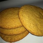 Molasses Cookies V - Cut out buttermilk molasses cookies spiced with ginger, cinnamon, cloves and nutmeg.
