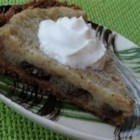 Raisin Sour Cream Pie - Try this easy to make sour cream and raisin pie in a graham cracker crust. Serve with whipped topping.