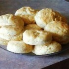 Buttermilk Biscuits I - Lots of buttermilk makes these biscuits light and tender.