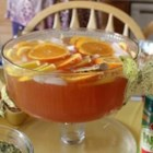 Sparkling Punch - A light and refreshing non-alcoholic punch.