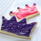 White Velvet Cutouts - This is an excellent cookie to decorate.